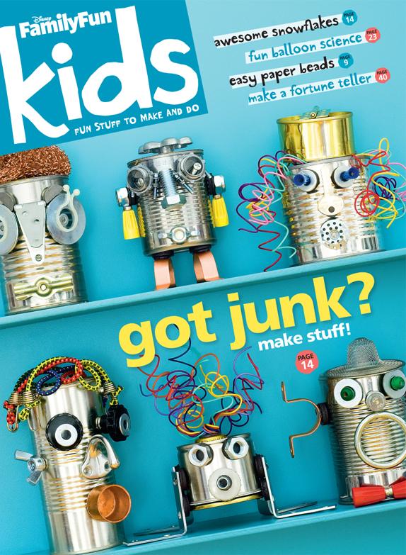 Disney FamilyFun Kids Magazine