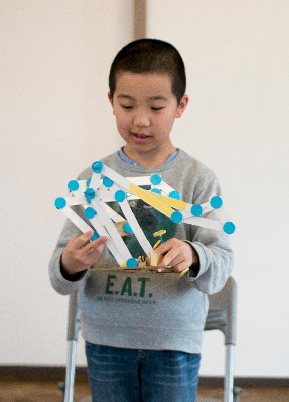 ロボットアーム作りに挑戦しました!